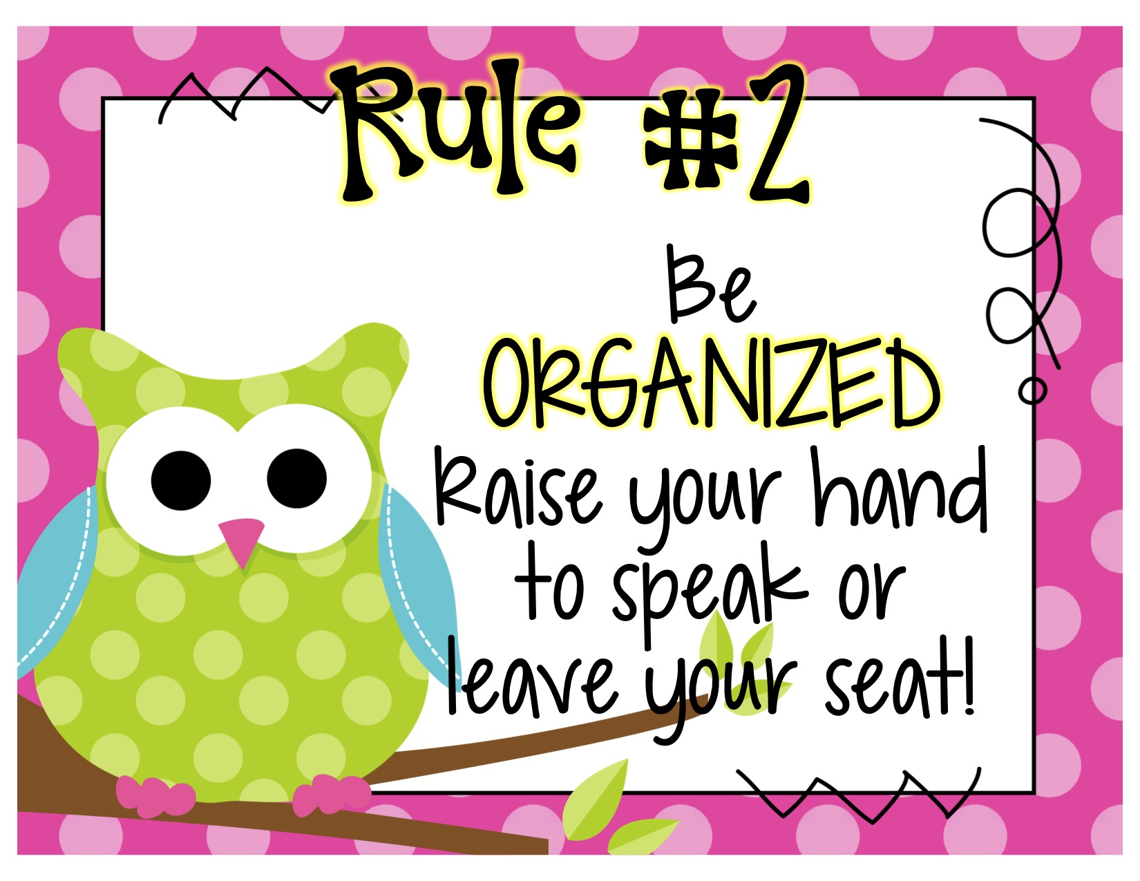 Classroom rules and expectations preschool